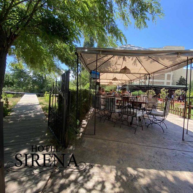 Ресторант-градина, хотел Сирена